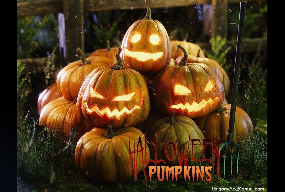 Halloween pumpkins and other stuff