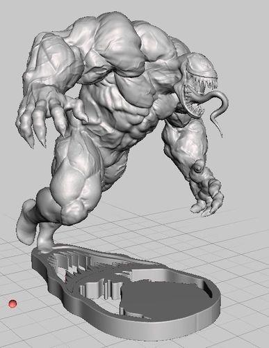 venom 3d model stl 1