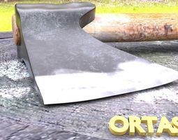 3D ORTAS AXE NO 1 WOOD AND STEEL SHARP EDGED HANDY AXE