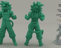 Goku super saiyan 4 - High detail 3D print model