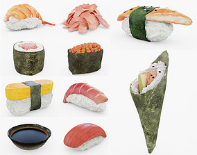3D Sushi Collection