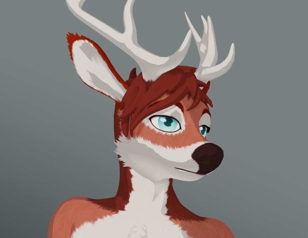 Anthro Deer