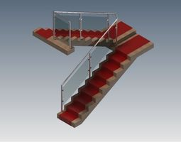 Indoor stairs 3D
