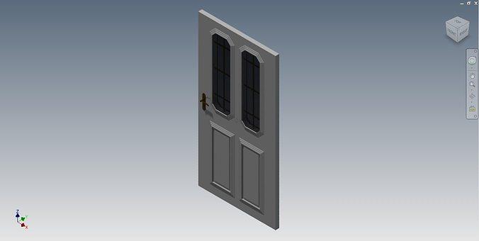 House Door 3d Cgtrader