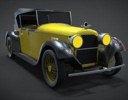 3D asset 1926 Duesenberg Model A Phaeton
