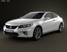 honda accord coupe 2013 3d