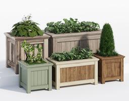 Prestige traditonal planter 3D