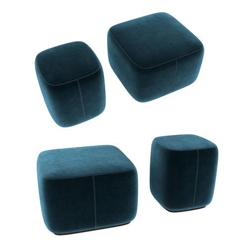 maries corner alvin pouf 3d model max obj mtl 3ds fbx stl dwg 1