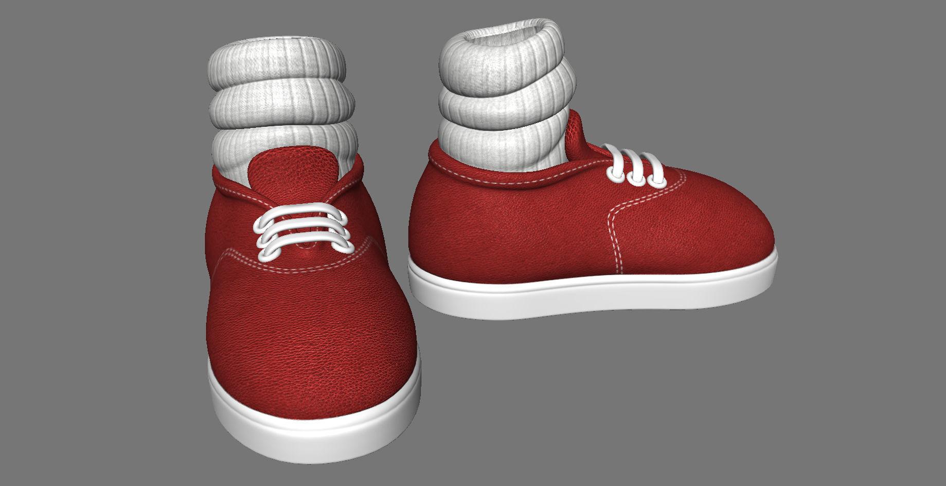 Cartoon Shoes   3D model