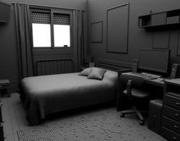 The Room 3D model