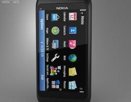 3D asset Nokia E7-00