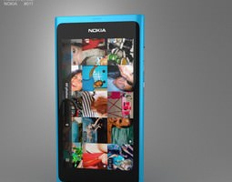 3D model Nokia N9