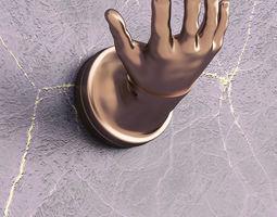 3D printable model Hand shape hanger