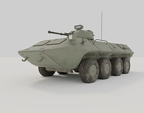 3D model VR / AR ready BTR 80 APC custom