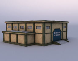 Warehause 03 3D model