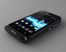 Sony Xperia tipo dual black 3D