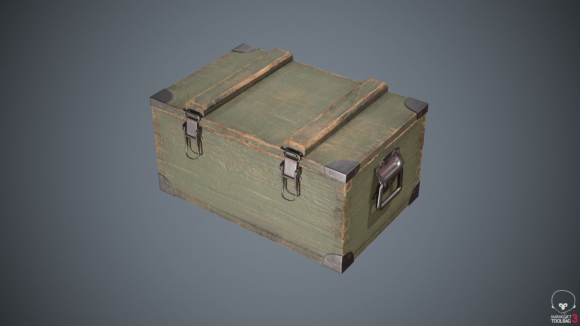 Military Box Container