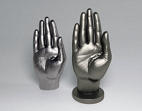 3D printable model Hand-letter B