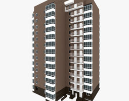 3D Residential House Building Part 8