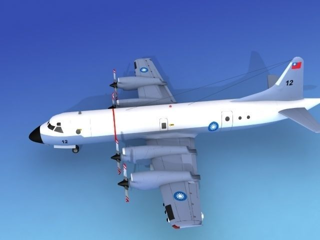Lockheed P-3 Orion Rep of China Hp | 3D model