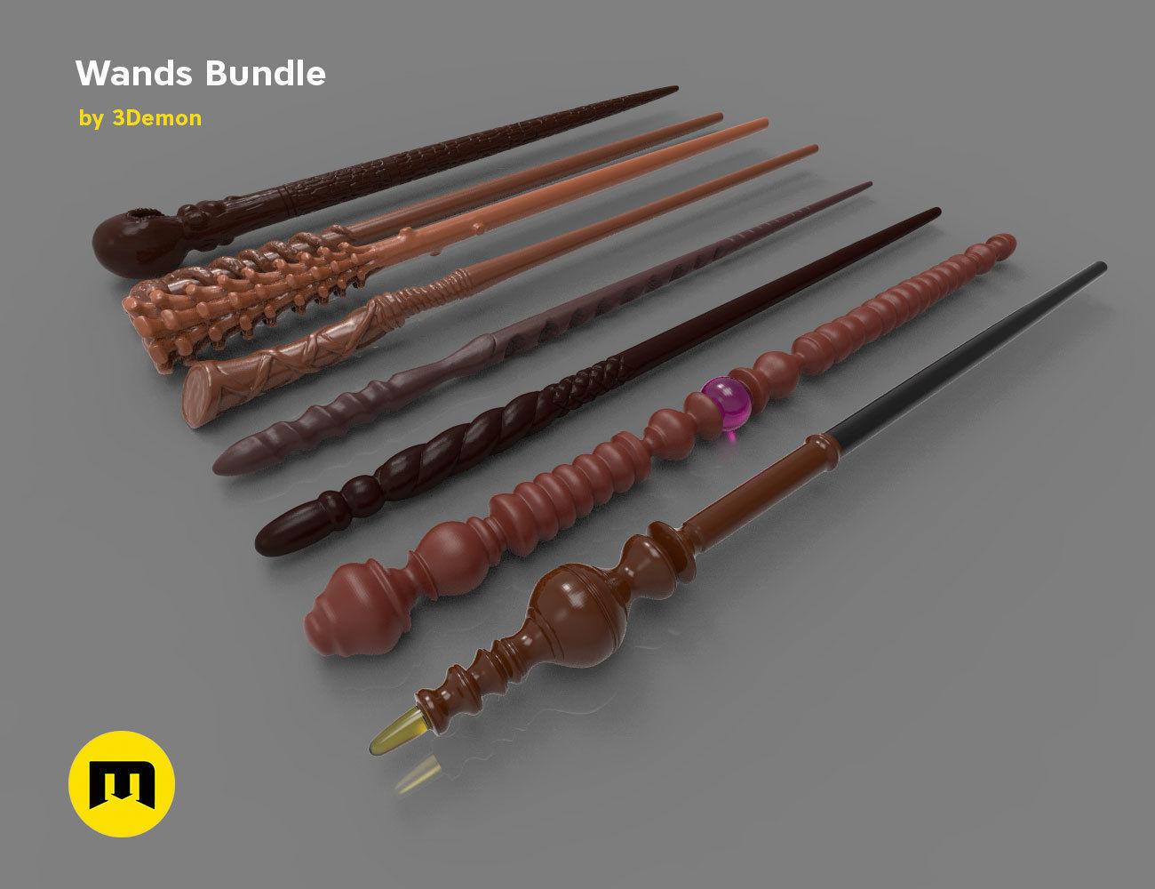 Harry Potter Wands Bundle 2