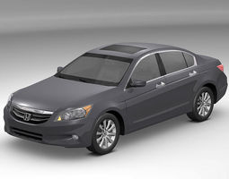 3D model Honda Accord 2011