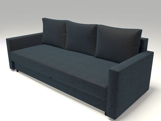 Ikea Friheten Sofa Bed Model Max Fbx 1