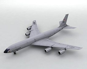 3D asset Douglas KC-135 Military Aircraft