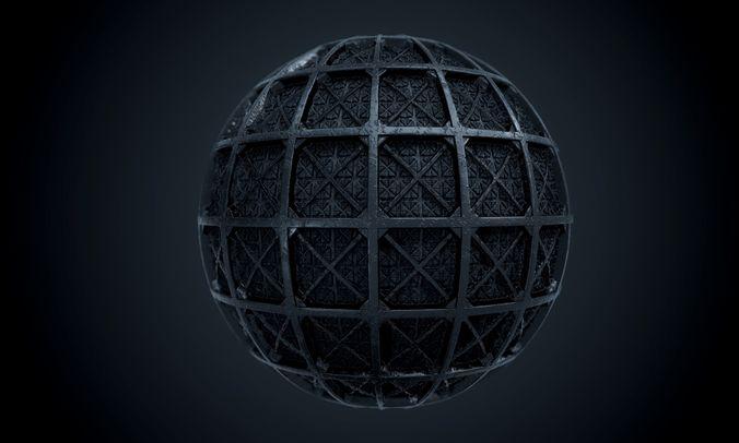 metal pbr seamless texture 3d model obj mtl 1
