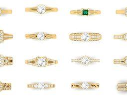 Bulk Rings-0052-3dm with stones-170 Files