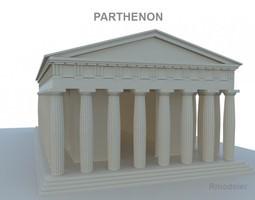 Parthenon 3D model