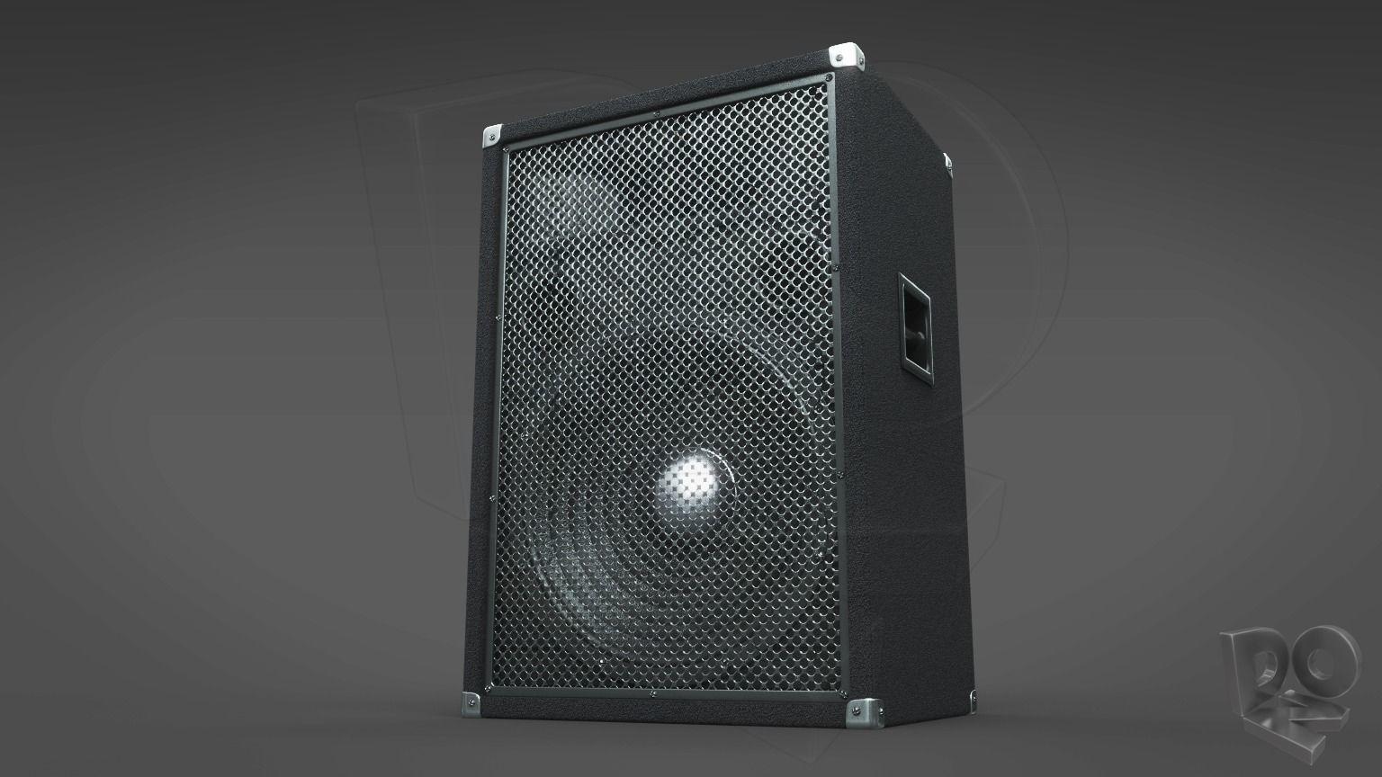 Simple hi-fi speaker