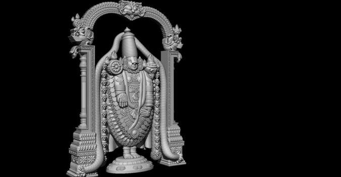 LordSriVenkateswara   3D Print Model