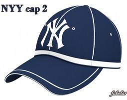 New York Yankees cap 2 3D