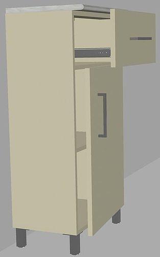 Bathroom Cabinet 3d Cgtrader