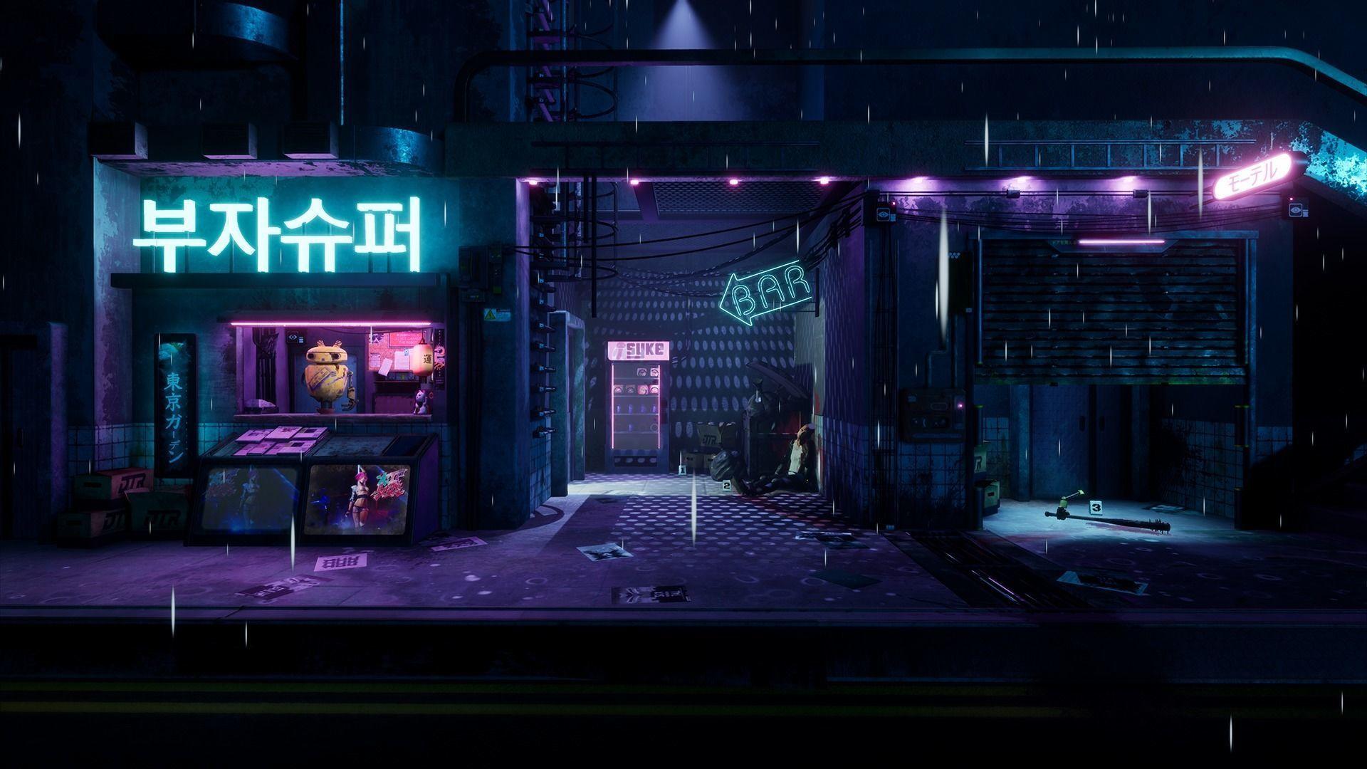 Cyberpunk Grunge Sci-Fi Asset Pack | 3D model