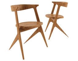 3D Slab Chair