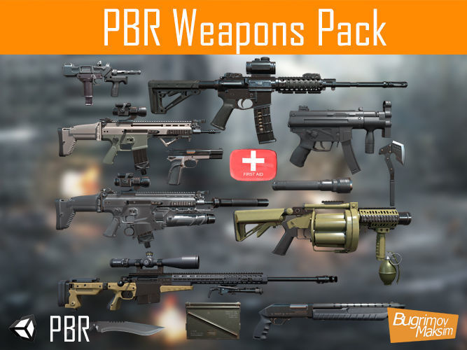 PBR Weapons pack