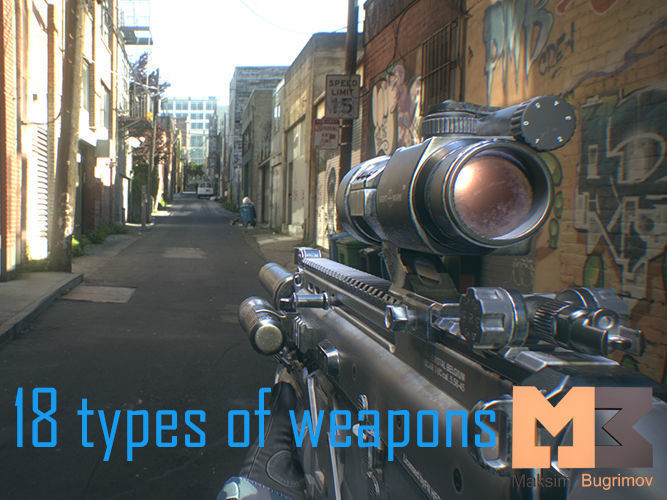 Animated Hands and Weapons Pack