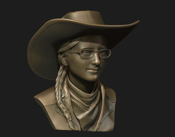 3D print model Female portrait
