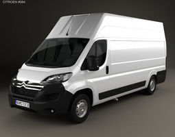 3D Citroen Jumper Panel Van L4H3 2015