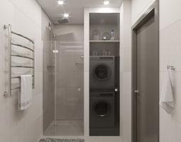 3D indoors Bathroom