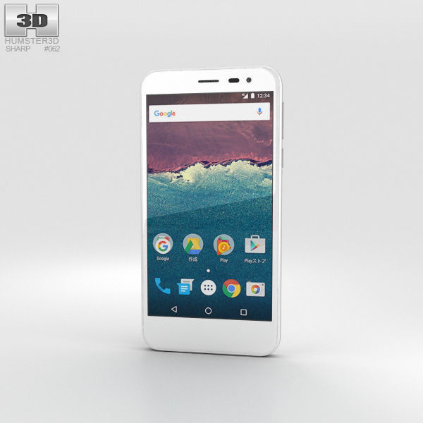 Sharp Aquos 507SH White