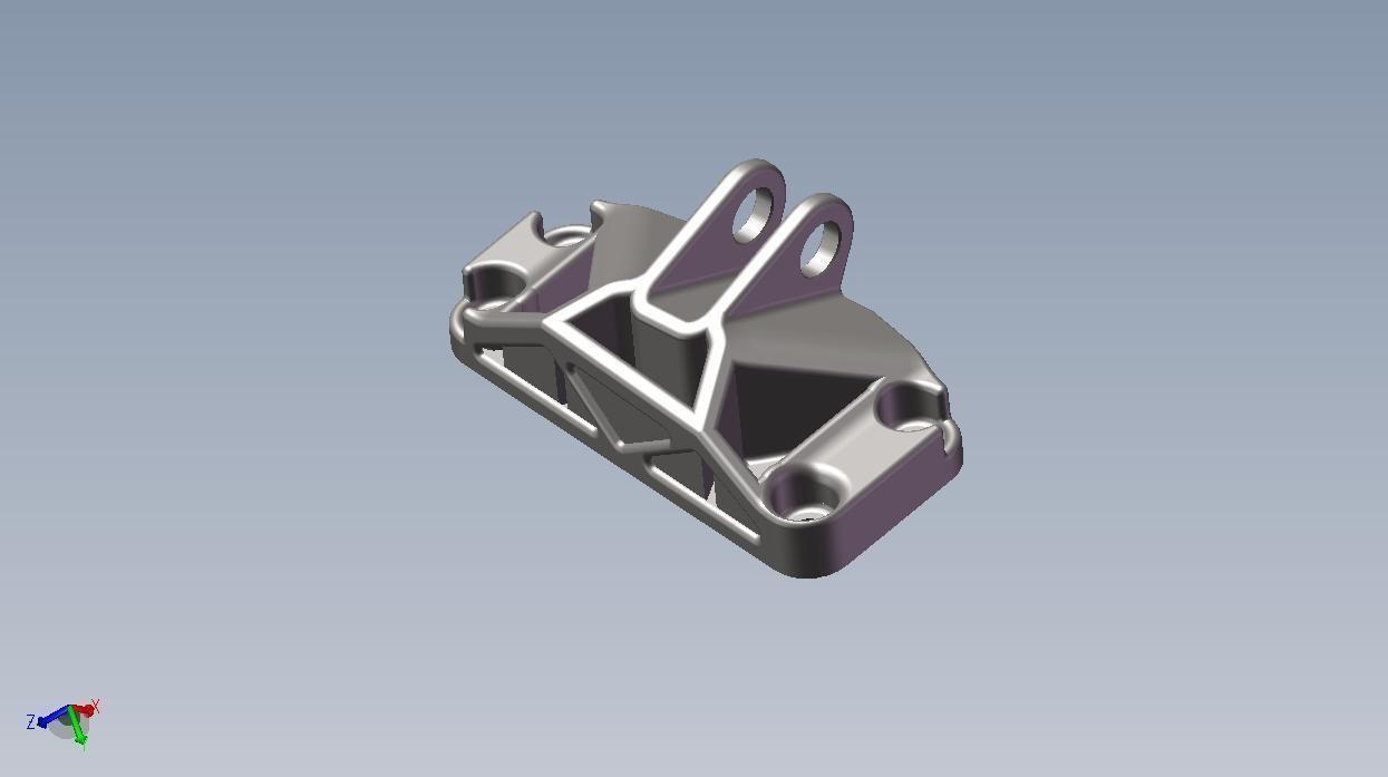 GE Jet Engine Bracket 3