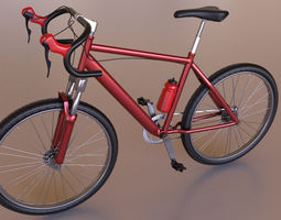 3D Bicycle Model arnold