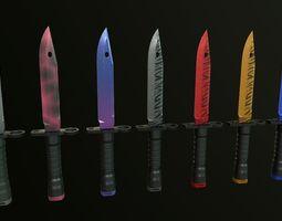 M9 Knife 3D asset