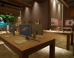 UE4 Mobile Shop 3D asset