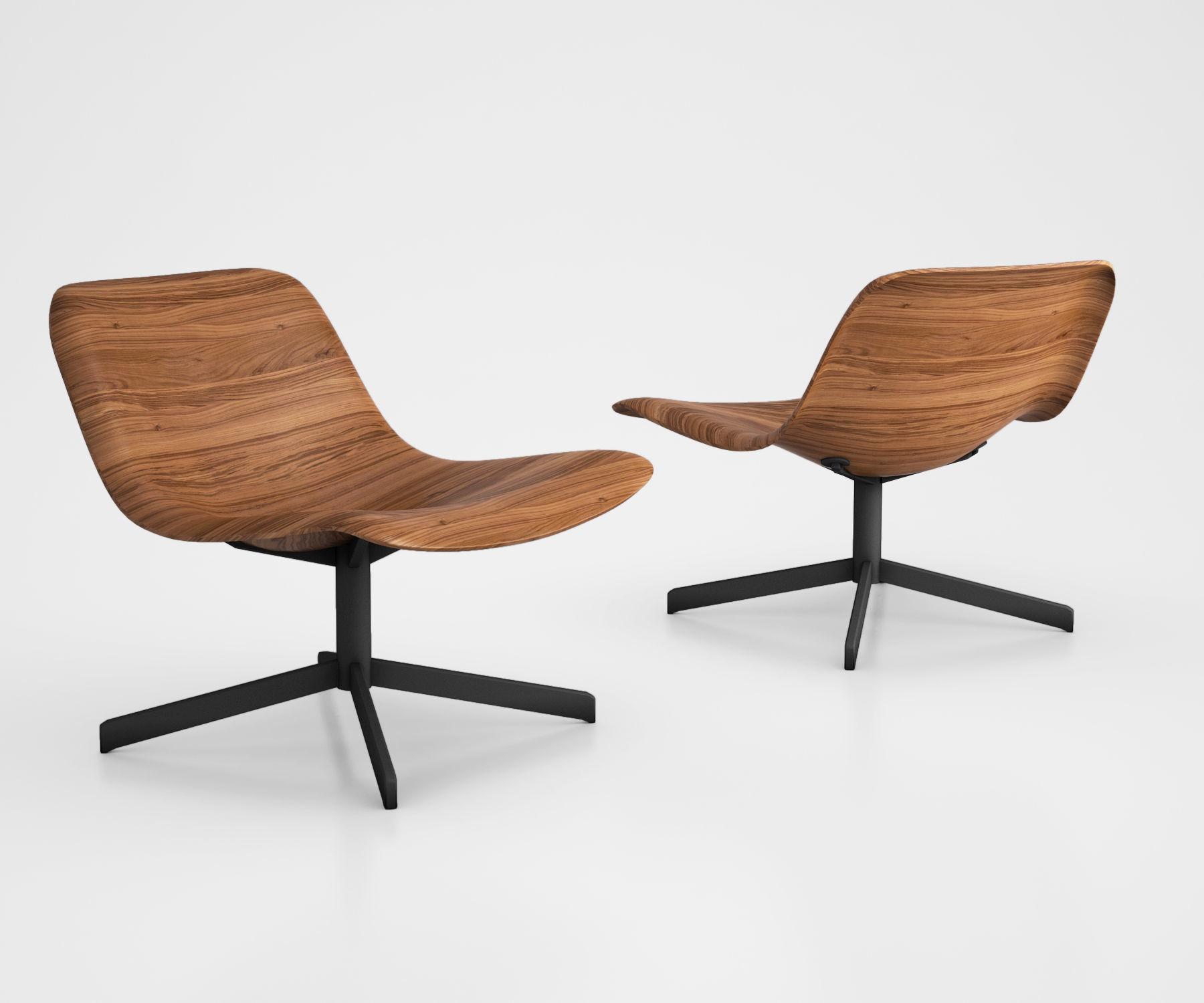 Nonesuch Modern Swivel Lounge Chair bu Blu Dot
