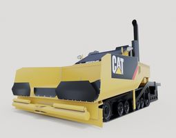 industrial 3D model Caterpillar