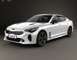 Kia Stinger GT 2017 3D